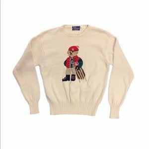 Rare Ralph Lauren Polo Sled 🛷 Bear Sweater XL
